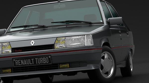 renault 9 turbo 3D