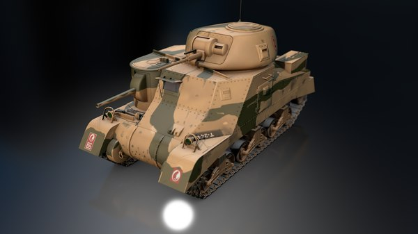 m3 grant desert rats model