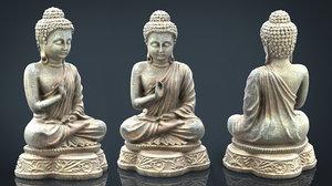 iron buddha 3D model