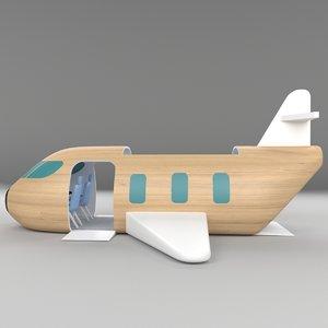 3D interactive plane