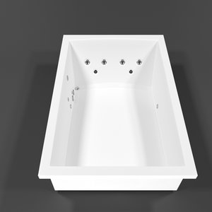 3D jacuzzi clean model