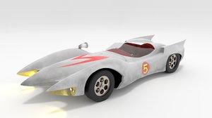 3D auto mach5 meteoro