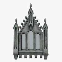 gothic window 08 model