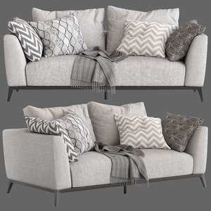 3D flou oliver sofa type1 model