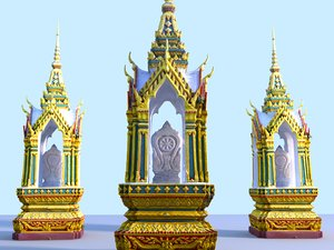 thailand temple ultra hd 3D
