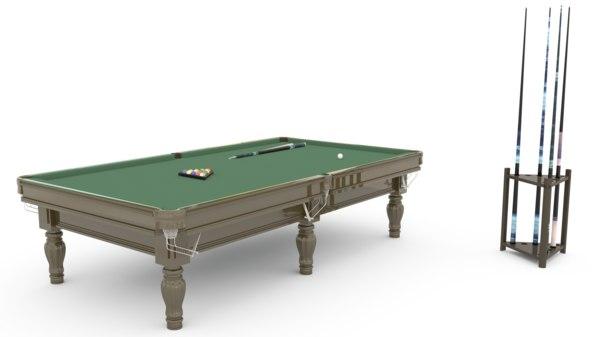 3D table billiard
