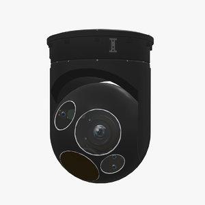 3D sensor wescam l3 black