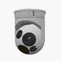 sensor wescam l3 3D model