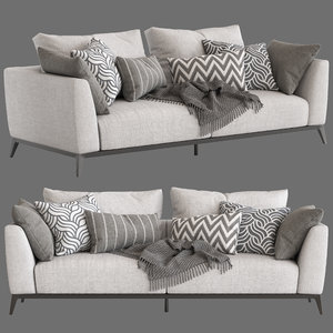 flou oliver sofa type2 3D model