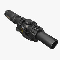3D burris-mtac-1 scope