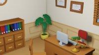 Cartoon detective office