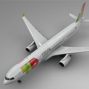 airbus a330-300 tap l350 model