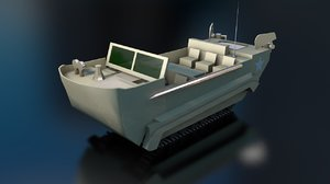 3D m29 weasel military tank model