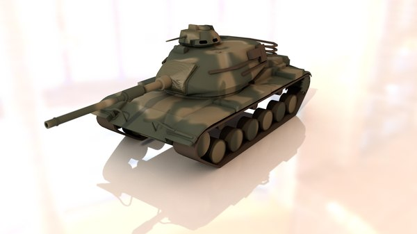 3D m60 a3 patton main