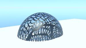 organic dome model
