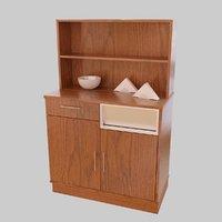 3D furnishing cupboard model