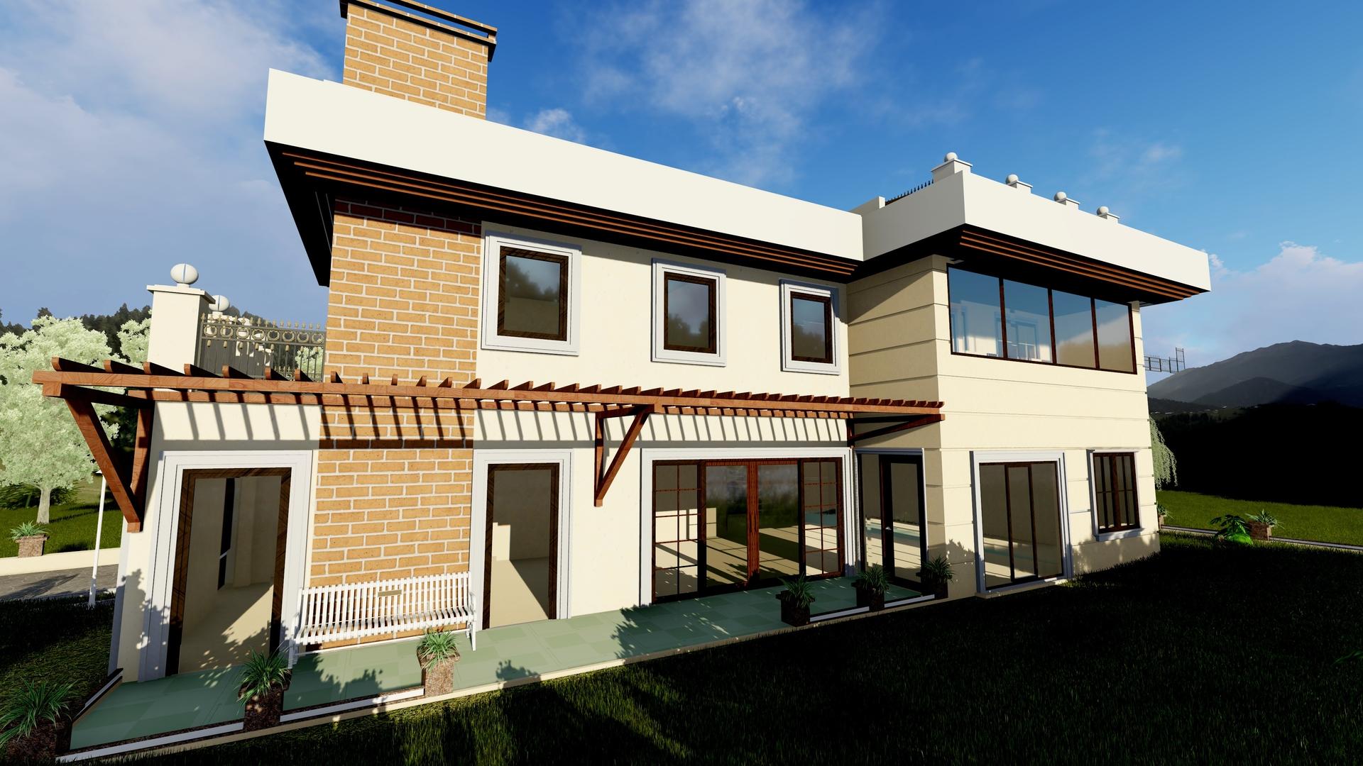 vlla house 3D model