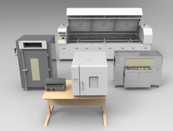 oven-type devices ovens 3D