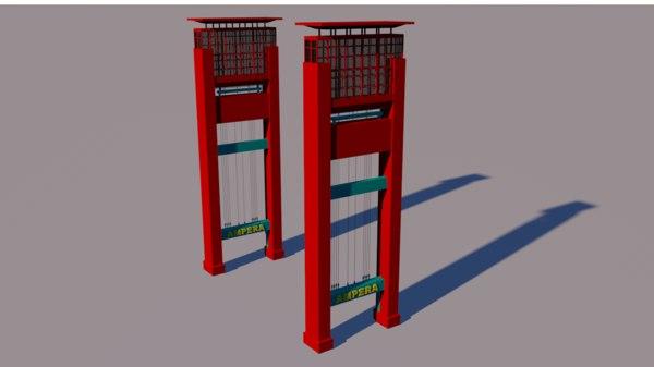 ampera 3D model