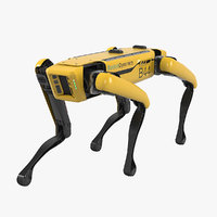 boston dynamics spot robot 3D model