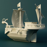 piece ship 3D