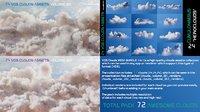 VDB Clouds MEGA BUNDLE 3 in 1 (Vol.1,Vol.2,Vol.3)