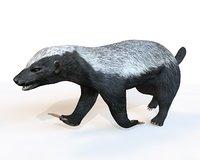 3D badger honey