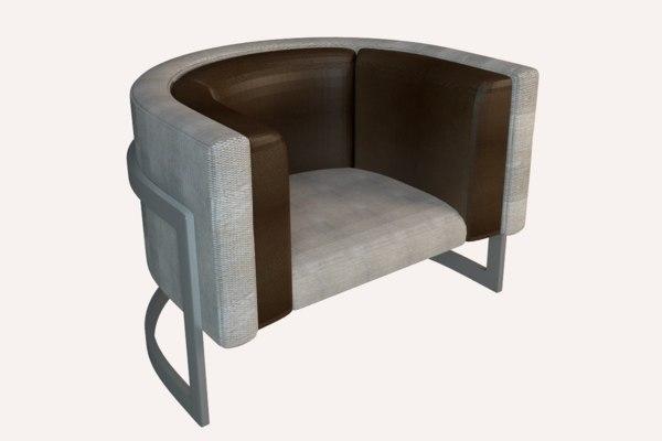 single sofa model