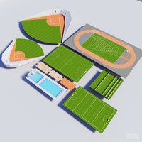 collection of 10 Sports Fields