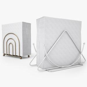 napkin holder 3D model