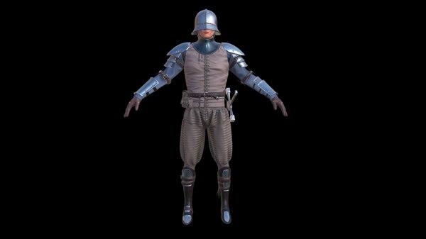 3D medieval - model