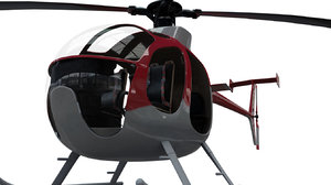3D helicopter aircraft vehicle