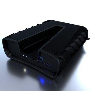 concept console ps5 3D