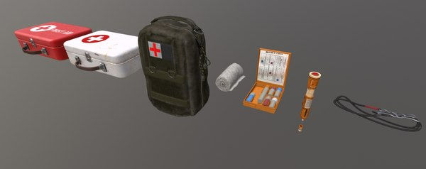 3D pack medical objects games