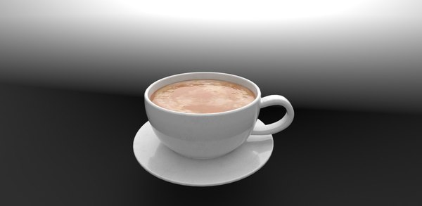 coffee cup 50 3D model