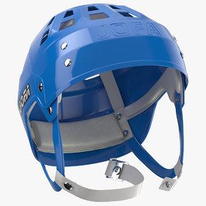 jofa ice helmet laying 3D