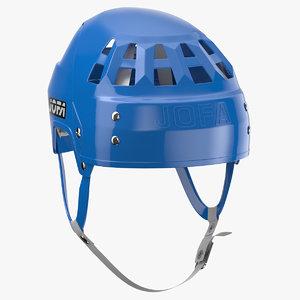 3D model jofa ice helmet worn