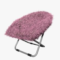 pink gray fur rific model