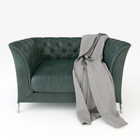 armchair blanket model