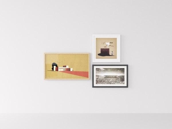 art interior room model