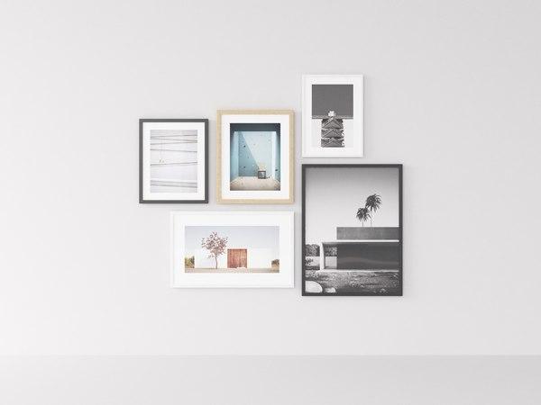 art interior room 3D