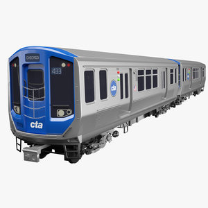 chicago cta train 7000 model