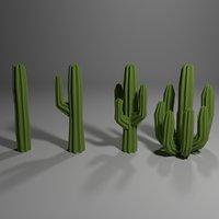 3D saguaro