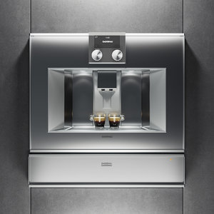 3D gaggenau espresso machine cm450111 model