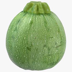 zucchini 03 3D model