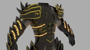 pbr divinity draconis 3D model