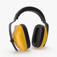3D ear muffs