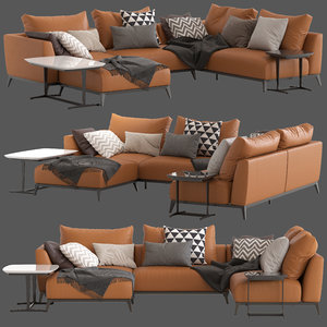 flou oliver sofa type6 3D model