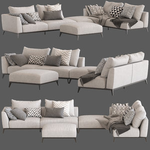 flou oliver sofa type7 3D model