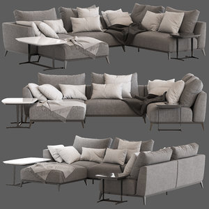 flou oliver sofa type5 3D model